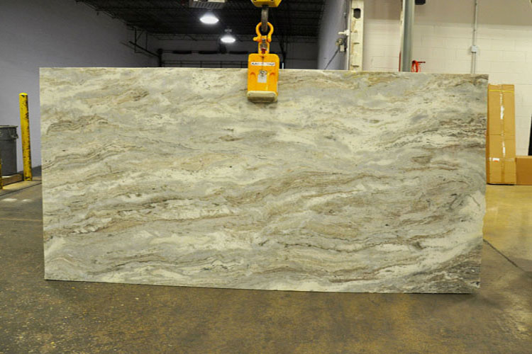 Cafe Latte Leather Quartzite Countertops