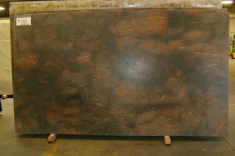 Copper Suede Quartzite Countertops