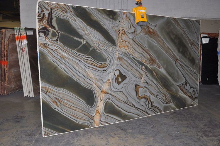Illusion Blue Quartzite Countertops