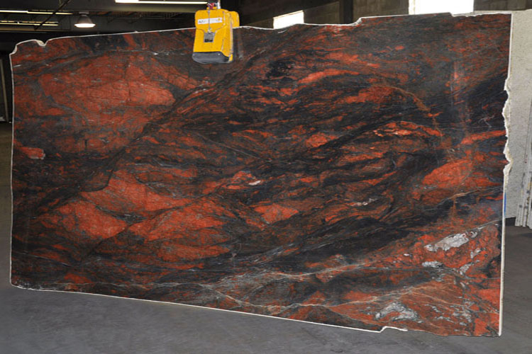 Red Hollywood Quartzite Countertops