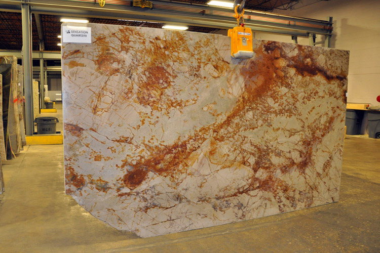 Sensation Quartzite Countertops