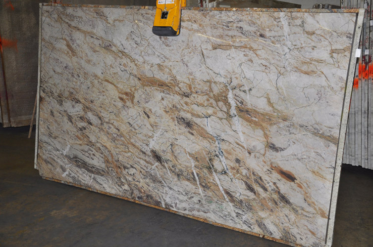 White Beauty Quartzite Countertops